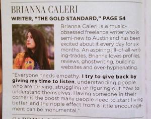 Brianna Caleri Bio